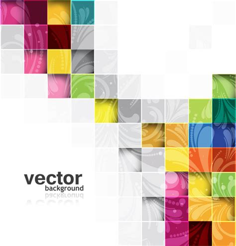 shiny cubes backgrounds vector free vector in encapsulated
