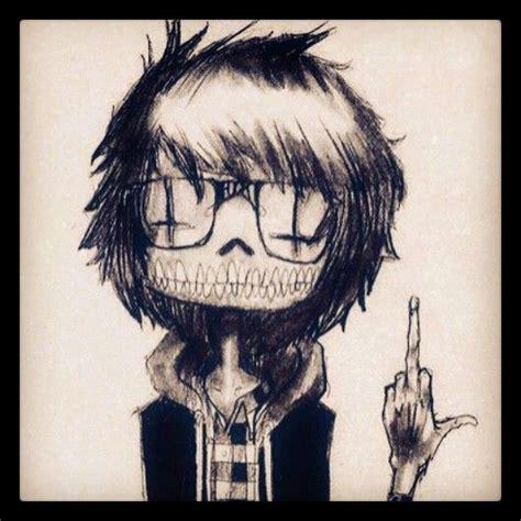 imagenes emo dibujos emo s hechos a l 225 piz carboncillo viso