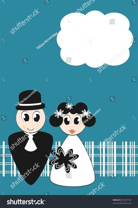 Wedding Invitations With Characters by Wedding Invitation With And Groom Characters