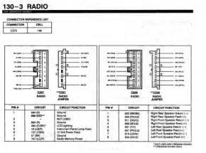 2000 ford f 150 radio wire diagram wiring diagram website