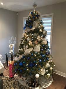 navy blue decorations 1000 ideas about silver tree on