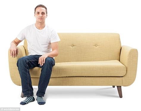 sitting on the couch what does your sofa sitting position say about your