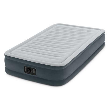 intex twin  durabeam comfort plush mid rise airbed