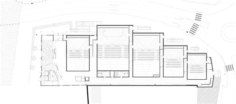 cinema floor plans encore heureux cine 32 france