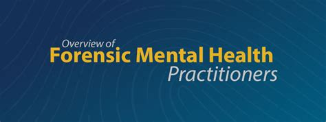 forensic mental health a source guide for professionals books an overview of forensic mental health practitioners