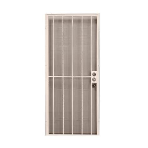 home depot security doors alert 36 in x 80 in leslie locke navajo