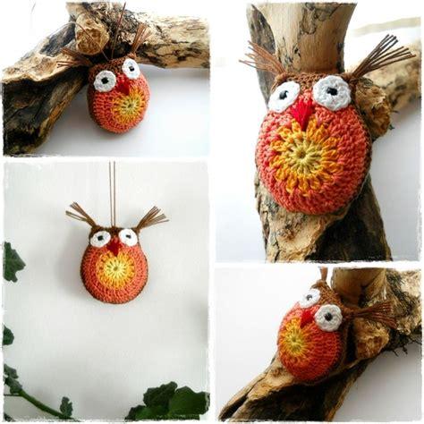 owl decorations for home crochet owl fall decoration owls pinterest crochet