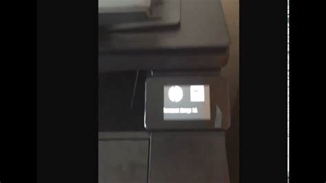 hp laserjet cp1025nw cold reset reset hp laserjet pro 200 400 mfp series youtube