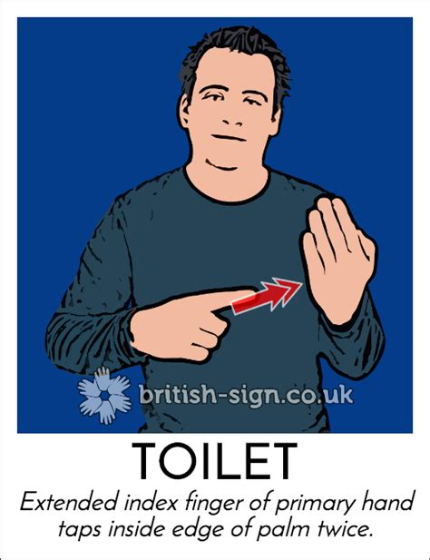 How To Say Bathroom In Sign Language by Today S Britishsignlanguage Sign Is Toilet There Are A