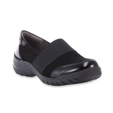 comfort shoes online shopping i love comfort women s stacey black casual slip on shoe