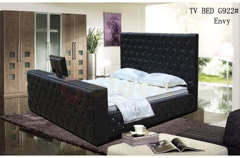 Tv Lift Bed Frame King Size Leather Bed With Automatic Tv Lift Tv Bed Frame On Sale G922 Buy Automatic Tv Lift