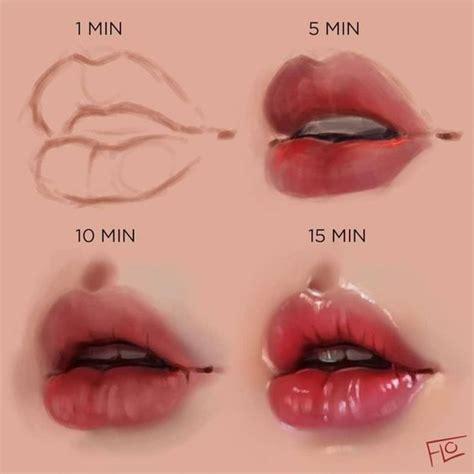 lippen zeichnen faeltchen lippen zeichnen wie man lippen
