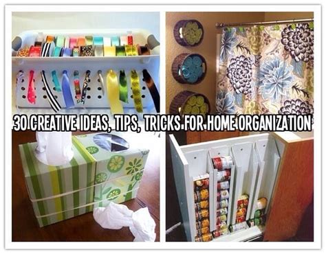 creative home ideas 30 creative ideas tips tricks for home organization