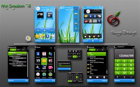 iphone themes phoneky nokia symbian mobile themes games and applications by