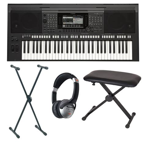 Keyboard Yamaha Psr S770 Baru yamaha psr s770 portable keyboard package rich tone