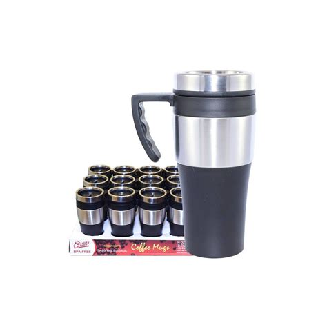 coffee mug handle 24 units of coffee mug insulated with handle at