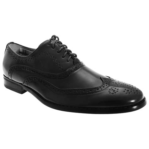 goor mens leather lace up oxford brogue classic formal