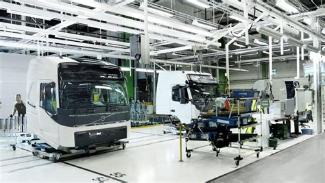volvo truck factory how a volvo truck cab is assembled volvo trucks magazine