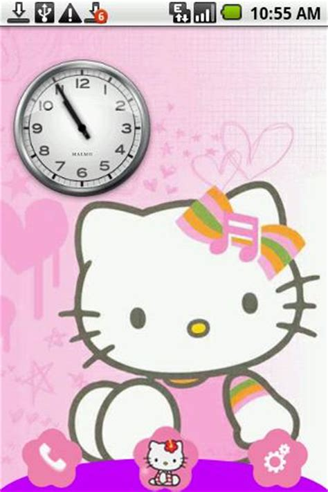 free hello kitty themes to download droids club house hello kitty theme for android apk