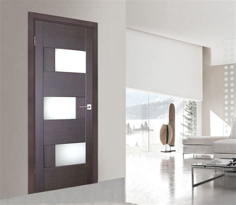 Contemporary Interior Glass Doors Image Gallery Modern Interior Doors