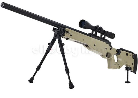 Kaos Airsoft Dual Sniper well g96d aw 338 sniper rifle popular airsoft