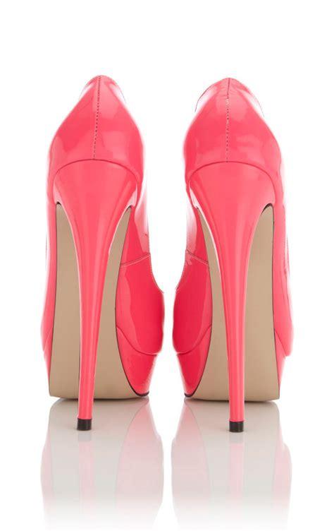 Back Heels pink high heels fs heel