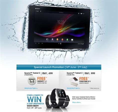 Tablet Sony Malaysia sony xperia tablet z lte soyacincau