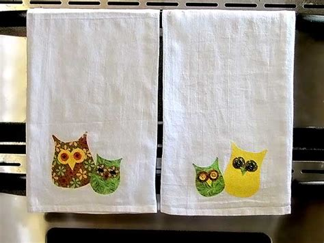 fall kitchen crafts owl towels woo jr kids activities