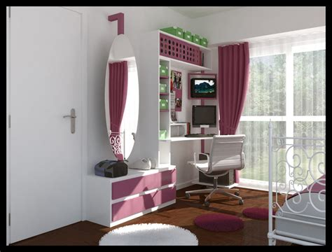 girls room design teenage room designs