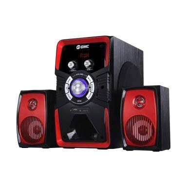 Garansi Speaker Aktif Bluetooth Slec Sp100 1 jual gmc 885 u bluetooth speaker aktif merah harga kualitas terjamin blibli