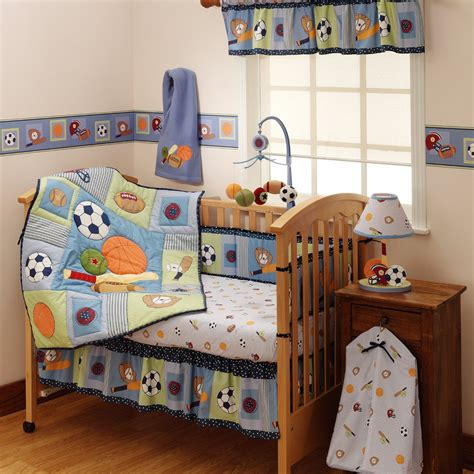 Bedtime Originals Super Sports Baby Bedding And Decor Crib Bedding Sports Theme
