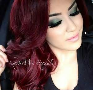 wine color hair wine color hair highlights brown hairs