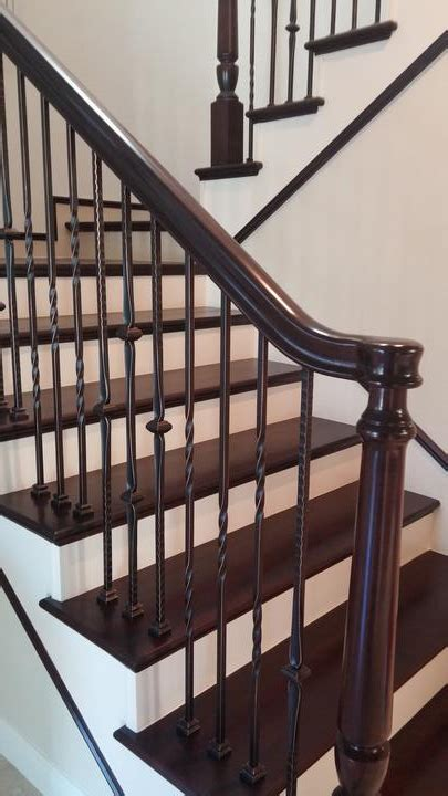 How To Refinish A Wood Banister by Stair Railing Installer Laguna Niguel Ca Stair Remodelling