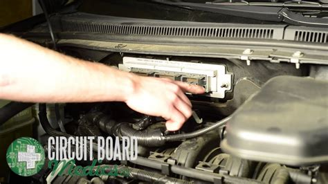 ford edge pcm repair  removal youtube