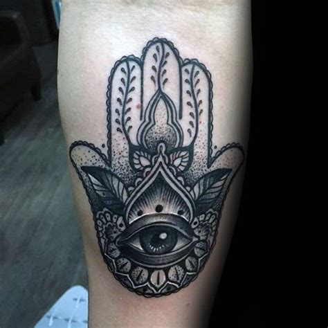 hamsa tattoo for men 80 hamsa designs for evil eye ink ideas