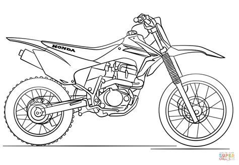 dirt bike coloring pages honda dirt bike coloring page free printable coloring pages