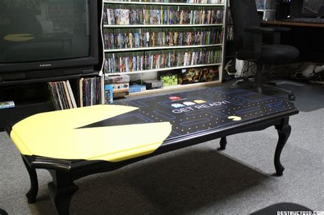 ikea game room better than ikea the custom pac man coffee table
