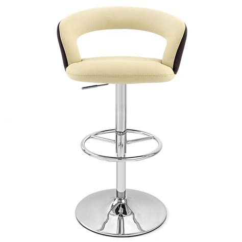 monza bar stool monza adjustable height swivel armless bar stool zuri