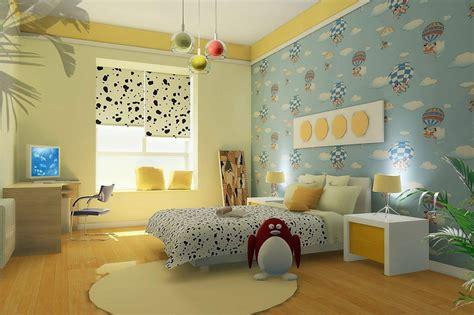 tips  membuat wallpaper kamar tidur anak nirwana