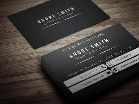 exclusive business cards templates exclusive business card design by yfguney on envato studio