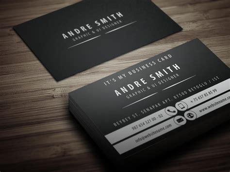 exclusive id card design exclusive business card design by yfguney on envato studio
