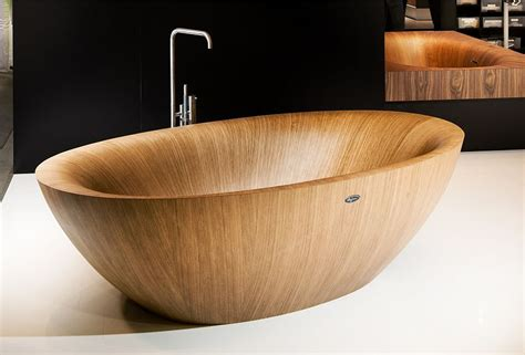 wooden bathtubs luxurious and dramatic wooden bathtubs make a bold visual