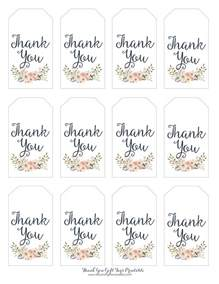 free printable thank you tags template 25 best ideas about thank you tags on thank