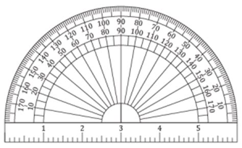 printable protractor and ruler printable protractors