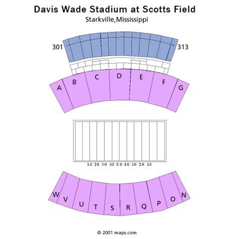 davis wade stadium seating chart mississippi state bulldogs football vs lsu tigers football