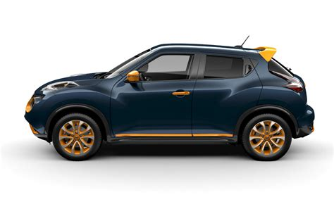 nissan juke colour studio offers 12 accessories six colours wheels ca