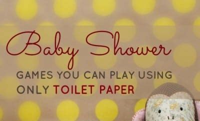 Toilet Paper Baby Shower by Baby Shower You Can Play With Just A Roll Of Toilet