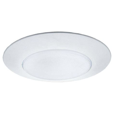 5 shower light trim flat glass shower 6 in white recessed trim 1133at 15