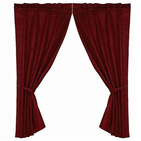 leather curtains drapes cheyenne faux tooled leather curtain