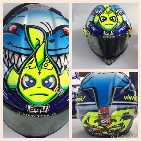 Helm Repaint Agv Misano valentino reveals misano helmet gpxtra
